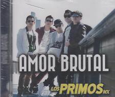CD - Los Primos MX NEW Amor Brutal 12 Tracks FAST SHIPPING !
