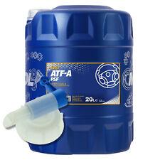 20 (1x20) Liter MANNOL ATF-A Automatik Getriebeöl mit Auslaufhahn