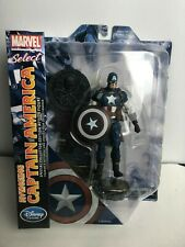 NEW Marvel Select Avenging Captain America Exclusive Action Figure