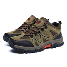 Mens Hiking Shoes Outdoor Trail Training Sneakers Breathable Climbing Shoes Plus
