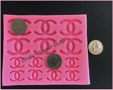 Famous Logo Silicone Mold Brand Mold Handbag Purses Designer Mould Sugar SM0164B