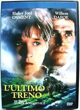 Dvd L'Ultimo treno di Yurek Bogayevicz con Willem Dafoe 2001 Usato raro