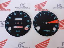 Honda CB 750 Four K0 Gauge Face Plates Kit Speedometer Speedo km / H RPM