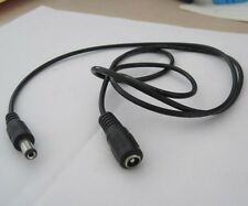 39in 5.5mm/2.1mm male Power DC Extension Cable lead Jack for CCTV Camera DVR DIY
