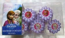 Disney Frozen Shower Curtain Hooks Set of 12 Elsa and Anna