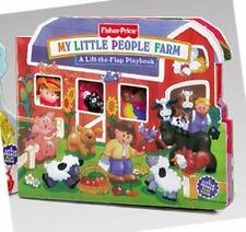 Fisher Price My Little People Farm Lift the Flap Playbooks
