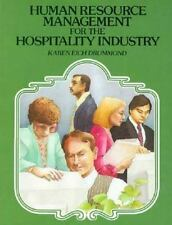 Human Resource Management for the Hospitality Industry by Karen Eich Drummond...