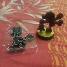 Amiibo Mr Game & Watch 1