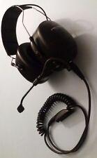 3 M Peltor MT53H79A-77 Heavy Duty cuffia auricolare per GP340/360 Radio EX NOLEGGIO STOCK