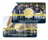 2 Euro Gedenkmünze Belgien 2017 Universität GENT in Coincard