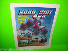 ROAD RIOT 4WD By Atari 1991 ORIGINAL Video Arcade Game PROMO Ad Not A Flyer