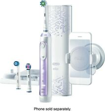 Oral-B 8000 Electronic Power Rechargeable Battery Toothbrush, Orchid Purple