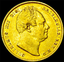 More details for king william the iv 1837 gold sovereign...