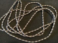 Fire Mountain Gem 28-7660GB Silver Glass Peal Beads Rice Texture 32 Strand 7x4mm