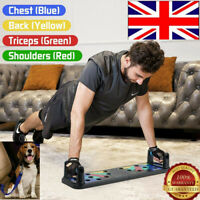UK Push Up Board 11 in 1 Exercise Pushup Stands w/Non-Slip Sticker Body Building