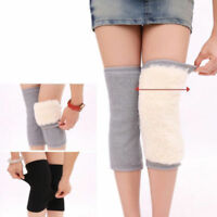 Womens Mens Warm Cashmere Wool Warmer Knee Leg Thigh High Socks Pad Legging lot