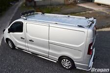 Para adaptarse a 2014+ Nissan NV300 Swb Barras de Metal de Aluminio Rack Rieles Techo van