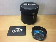 Nuevo - Reloj Watch CP5 Carles Puyol Aluminum Turquoise & Black Swarovski Size L