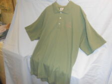 Ducks Unlimited Brand Embroidered Green Polo Style Short Sleeved Shirt