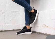 Nike Roshe Two SI Black/Black-Ivory 881187-001 Wmn Sz 8 Leather