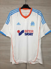 Olympique Marseille 2012-2013 Home Football Soccer Adidas Shirt Maillot size L