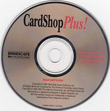 CardShop Plus!--CD-ROM for Macintosh (1994)--FREE SHIPPING