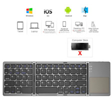 AVATTO B033 Foldable Wireless Keypad with Touchpad for Windows,Android,Ios,table