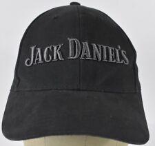 Black Jack Daniel's Whiskey Logo Embroidered Baseball Hat Cap Adjustable Strap