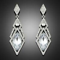 Pick stylish Vintage Wedding Crystal Rhinestone Dangle Drop Chandelier Earrings