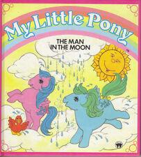 MY LITTLE PONY - THE MAN IN THE MOON (& TREASURE HUNT)  - HARDBACK 1985 - VGC