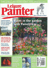 LEISURE PAINTER MAGAZINE,   SUMMER, 2016   PAINT IN THE GARDEN WITH PAMELA KAY