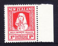 1930 - New Zealand 1d Nurse - Health  Mint Unhinged