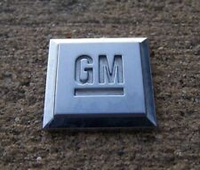 GM door emblem badge decal logo Chevy Pontiac side Chevy Pontiac OEM Genuine
