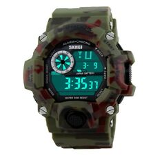S SHOCK Mens Digital Date Waterproof LED Military Army g Style Sport Wrist Watch