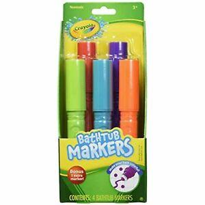 Crayola Bathtub Markers, Assorted Colors 5 each
