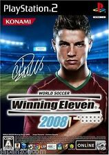 Used PS2 Winning Eleven 2008   SONY PLAYSTATION JAPAN IMPORT