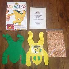 1993 PIETRA MORBIDA pouf a sacco RANA VINTAGE Acorn Hobby Craft inutilizzati RARO DA COLLEZIONE ago