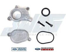 Ford OEM Oil Cooler Cover Outlet Valve 3C3Z-9P458-AA 2003-2010 Powerstroke 6.0L
