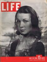 ORIGINAL Vintage Life Magazine July 26 1946 Vivien Leigh