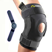 Knee Brace Support XFORCE™ Neoprene Lateral Stabilizer - Patella Hinged Medium