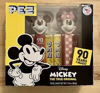 Mickey 90 Years of Magic Mickey & Minnie Mouse PEZ Twin Pack