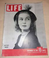 Life Magazine November 24 1947 - Metropolitan Opera Opens, Invulnerable Man, etc