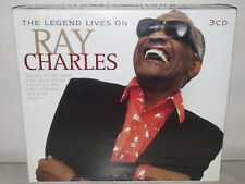 3 CD RAY CHARLES - LEGEND LIVES ON