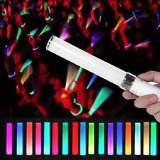 Durable LED Concert Light Stick Glow Wand Reusable Portable 18 Colors Adjustable