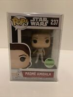 Funko Pop Padme Amidala 237 - 2018 Spring Convention Exclusive W Pop Protector