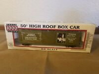 Proto 1000 #8587 Limited Edition 1943 Norman Rockwell 50' High Roof Box Car HO