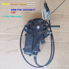 12V Engine Flameout Motor for Daewoo Doosan Excavator DH150-9 DH215-9 DH225-9