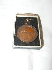 Moneda Medalla Campeonato Vintage pequeños comerciantes de mercado en Caja Bronce Cobre