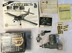 Vintage Webra Speed 91  RC Airplane Engine with Box and instructions used