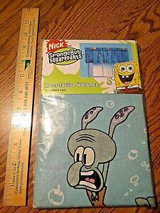 BRAND NEW SpongeBob Square Pants Curtain Window Valance 84'' x 15'' Nickelodeon